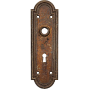 Reclaimed Antique Arched Doorplates