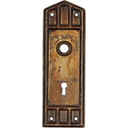 Antique Mission Door Plates, Early 1900's