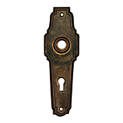 Salvaged Antique Doorplates, Early 1900s