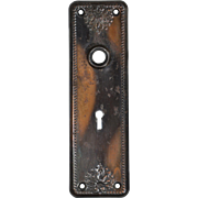 Antique Doorplates with Palmettes, Early 1900s
