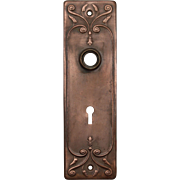 """Antique """"Clermont"""" Doorplates by Russell & Erwin, c. 1909"""