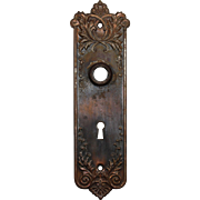 "Antique ""Lorraine"" Doorplates by P.F Corbin, c.1905"