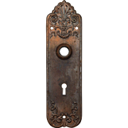 "Antique ""Verona"" Doorplates by Sargent, Early 1900s"