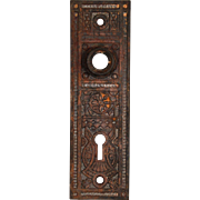 Petite Antique Eastlake Doorplates, Late 19th Century