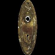 """Antique """"Alden"""" Doorplates by Russell & Erwin"""