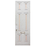 "Salvaged Antique 30"" Exterior Door"
