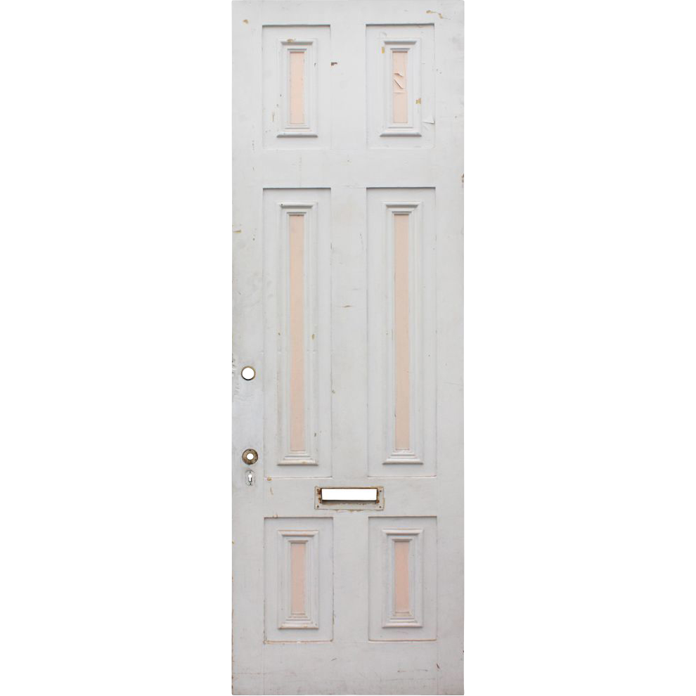 Salvaged antique 30 exterior door preservation station for Upvc front door 78 x 30