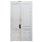 "Reclaimed Pair of Antique 46"" Double Doors"