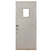 "Salvaged Antique 34"" Plank Door"