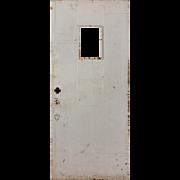 """Salvaged Antique 34"""" Plank Door"""