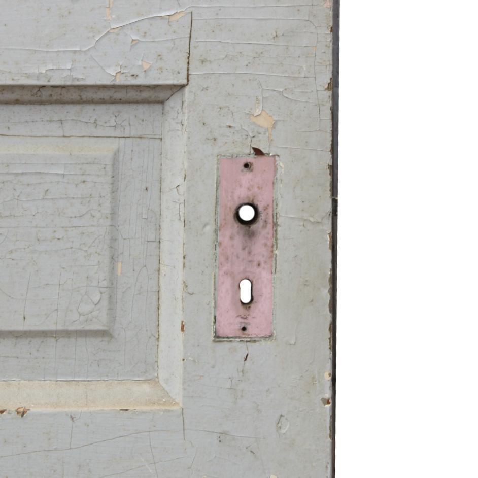 Reclaimed Antique Five-Panel Door