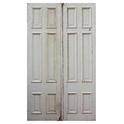 Reclaimed Pair of Double Doors, Early 1900s
