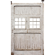 Reclaimed Antique 5' Carriage Door, Early 1900s