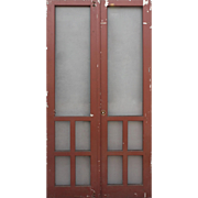 Salvaged Pair of Screen Doors, Early 1900s