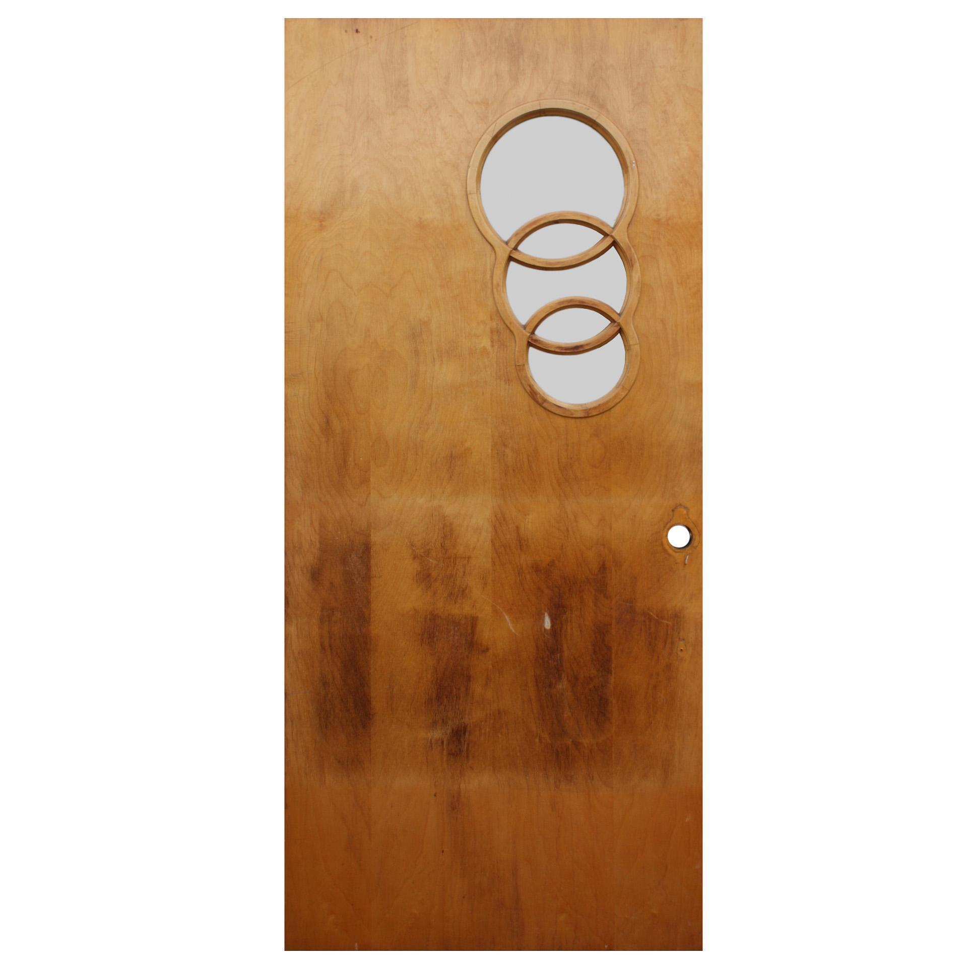 """Reclaimed 36"""" Mid Century Modern Door"""