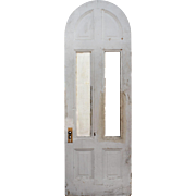"Reclaimed 32"" Arched Door, 19th Century"
