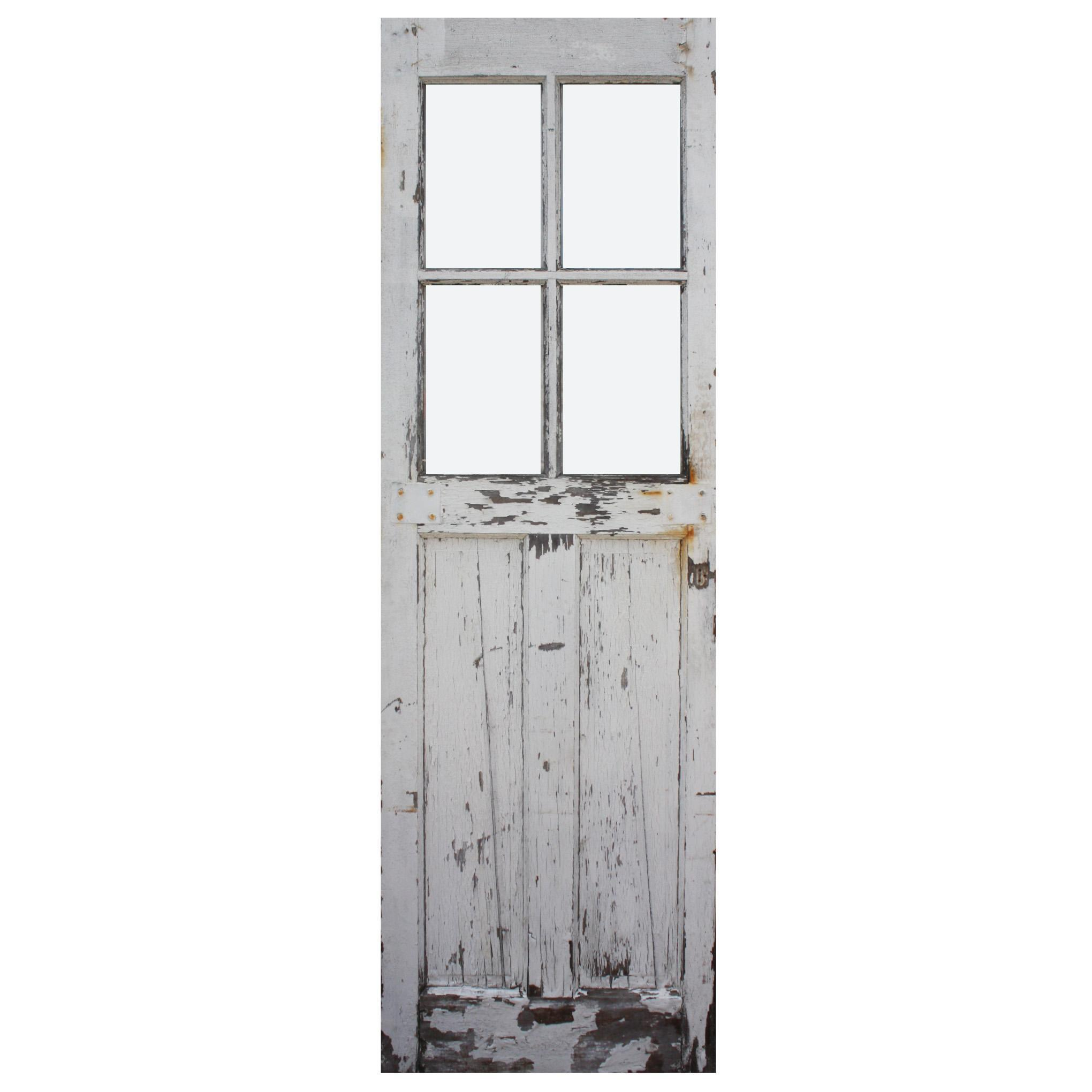 """Salvaged 28"""" Carriage Door, Early 1900s"""