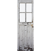 "Salvaged 28"" Carriage Door, Early 1900s"