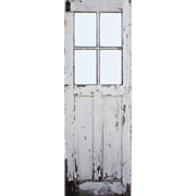 "Reclaimed 30"" Carriage Door, Early 1900s"