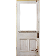 "Salvaged 34"" Eastlake Door, c.1890s"