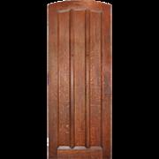 "Salvaged Antique 36"" Oak Door from Downtown Nashville Bank"