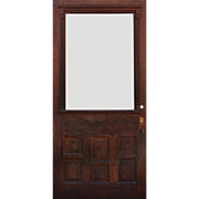 "Salvaged Antique 42"" Eastlake Door, c.1880s"