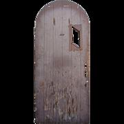 "Reclaimed 36"" Arched Tudor Door"