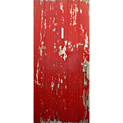 "Salvaged Antique 36"" Plank Door, Early 1900s"