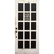 "Reclaimed 36"" Multi Panel Door with Window"