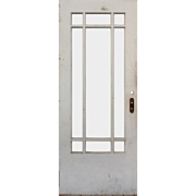 "Salvaged 32"" Antique Craftsman Door"