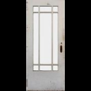 "Salvaged 32"" Antique Craftsman Door"
