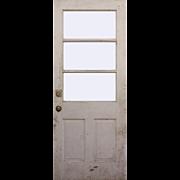 """Salvaged 32"""" Antique Door"""