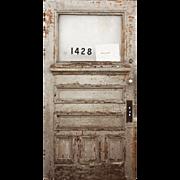 """Reclaimed 42"""" Antique Door"""