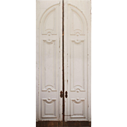 Substantial Pair of 12' Double Doors, Late 19th Century