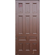 Substantial Salvaged Antique 4' Pocket Door