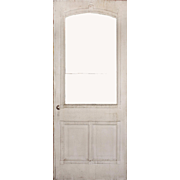 Reclaimed Antique Eastlake Door with Arched Window, c. 1880