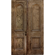 """Salvaged Pair of  Antique 48"""" Double Doors"""