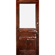 "Salvaged Antique 34"" Eastlake Door, Late 19th Century"
