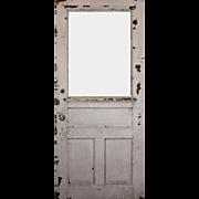 """Reclaimed Antique 34"""" Eastlake Door"""