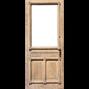 "Reclaimed Antique 32"" Eastlake Door, Late 19th Century"
