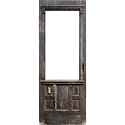 "Salvaged Antique 30"" Eastlake Door"
