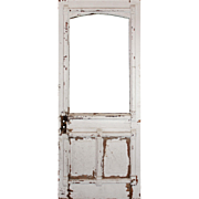Reclaimed Antique Eastlake Door with Arched Window, c. 1880