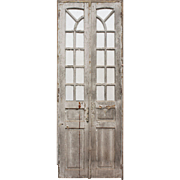 "Reclaimed Pair of Antique 36"" Doors"