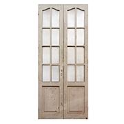 "Reclaimed Pair of Antique 44"" Doors"