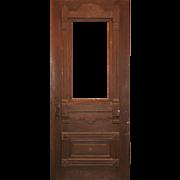 """Reclaimed 36"""" Antique Eastlake Door, c. 1880"""