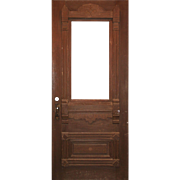 "Reclaimed 36"" Antique Eastlake Door, c. 1880"