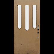 """Salvaged 40"""" Arts & Crafts Door"""