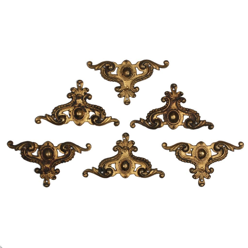 Charming Antique Ormolu Furniture Mounts, c. 19th Century