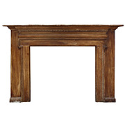 Antique Federal Fireplace Mantel, Late 19th Century
