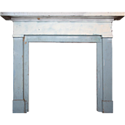 Salvaged Antique Fireplace Mantel, c.1840